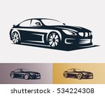 race car symbol logo template ... | Shutterstock .eps vector #534224308