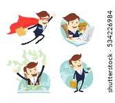vector illustration business...   Shutterstock .eps vector #534226984