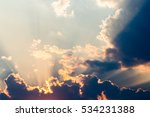 Colorful Dramatic Sky With...