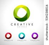 circle  circular corporate logo.... | Shutterstock .eps vector #534238816