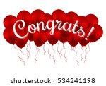 congrats  congratulations... | Shutterstock .eps vector #534241198