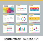 page layout design template for ... | Shutterstock .eps vector #534256714