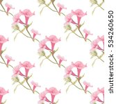 elegant seamless pattern with... | Shutterstock . vector #534260650