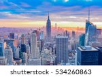new york  united states  ... | Shutterstock . vector #534260863