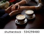 romantic background  two cups... | Shutterstock . vector #534298480