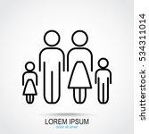 line icon family | Shutterstock .eps vector #534311014