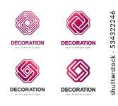 set of vector logos for...   Shutterstock .eps vector #534322246