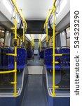 public bus inside  city... | Shutterstock . vector #534323290