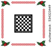 Web Icon. Chess Board