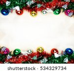 christmas background with... | Shutterstock . vector #534329734