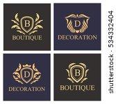 luxury  heraldic  royal ...   Shutterstock .eps vector #534332404