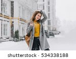 Cheerful Smiling Young Woman I...