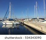 sentur marinas yalova. small... | Shutterstock . vector #534343090