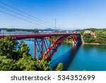 five bridge of amakusa ... | Shutterstock . vector #534352699