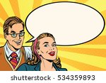 business people announcement... | Shutterstock . vector #534359893