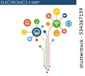 electronics mechanism. abstract ... | Shutterstock .eps vector #534367159