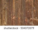 barn wood frame old background. ... | Shutterstock . vector #534372079