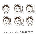 steps how to make eyebrow...
