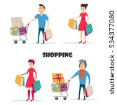 vector cartoon illustration of... | Shutterstock .eps vector #534377080