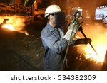 Steel Making In Steel Plant ...
