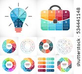 vector infographics set.... | Shutterstock .eps vector #534441148