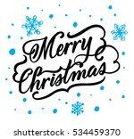 hand drawn lettering design.... | Shutterstock .eps vector #534459370
