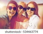 summer vacation  holidays ... | Shutterstock . vector #534463774