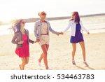 summer vacation  holidays ... | Shutterstock . vector #534463783