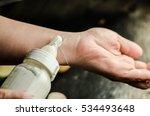 baby bottles with milk   Shutterstock . vector #534493648