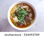 bun bo hue  bun bo  vietnamese...   Shutterstock . vector #534493789