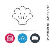 sea shell icon. seashell sign....   Shutterstock .eps vector #534497764