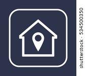 mark icon.  flat design.   Shutterstock .eps vector #534500350
