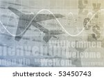 travel agency abstract... | Shutterstock . vector #53450743
