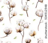 watercolor vintage background... | Shutterstock . vector #534512548
