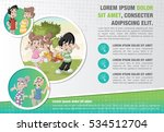 template for advertising... | Shutterstock .eps vector #534512704