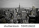 new york city skyline at night | Shutterstock . vector #534513610