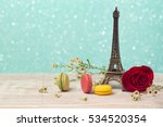 romantic background with...   Shutterstock . vector #534520354
