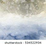 watercolor texture faded... | Shutterstock . vector #534522934