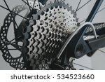 Rear Wheel Cassette From A...