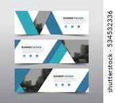 blue abstract label corporate...   Shutterstock .eps vector #534532336
