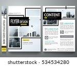 portfolio design template...   Shutterstock .eps vector #534534280