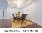 modern dining room in luxury... | Shutterstock . vector #534545440