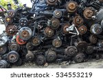 old car spare parts in thailand | Shutterstock . vector #534553219