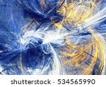 winter sunny day. abstract... | Shutterstock . vector #534565990