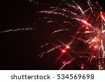 Fireworks Light Explosion In...