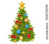 colorful cartoon illustration...   Shutterstock .eps vector #534578290