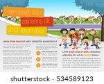 template for advertising...   Shutterstock .eps vector #534589123