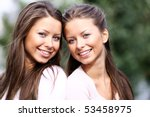 twins of sister | Shutterstock . vector #53458975