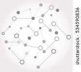 social network graphic concept. ... | Shutterstock . vector #534590836