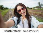 young beautiful asia woman... | Shutterstock . vector #534590914